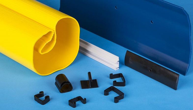 Plastic Extrusion: HDPE Custom Profiles