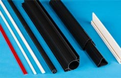 Various extrusions-Material RPVC
